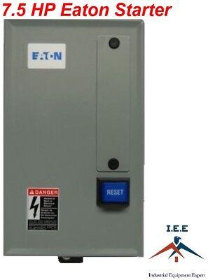 Eaton Air Compressor Magnetic Starter 7.5 Hp 230 Volt Single Phase B27cgf40b040