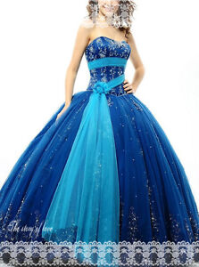New arrival Quinceanera Evening Party Prom dresses Ball Gown Wedding Dresses