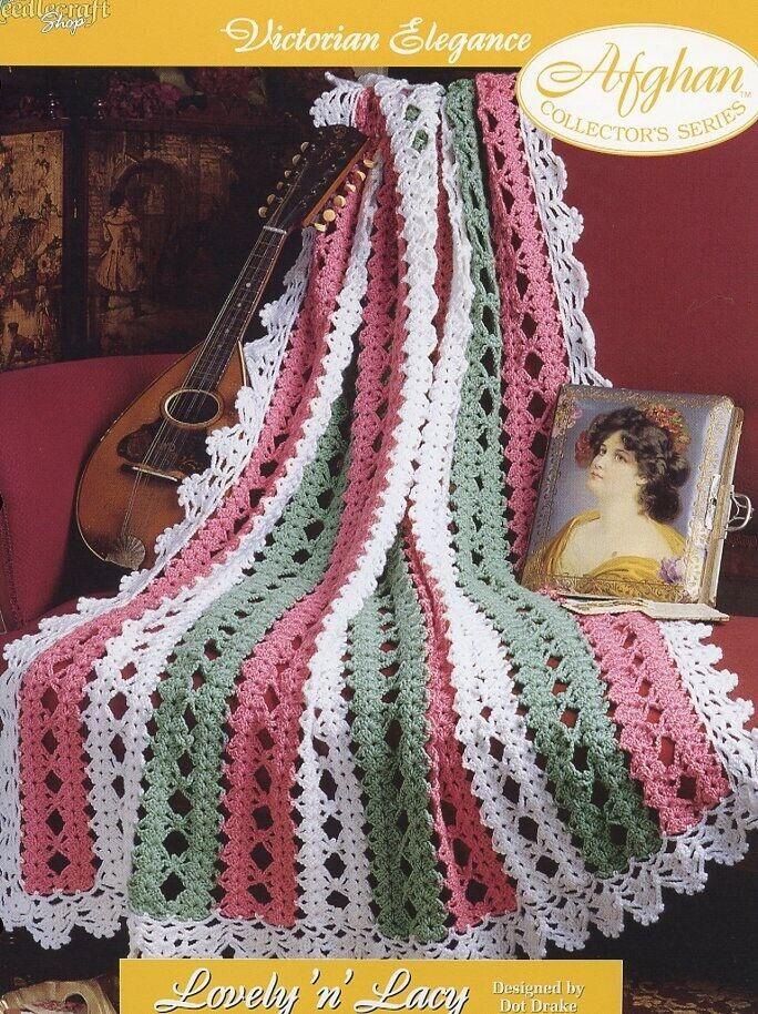 Evensong Victorian Elegance Afghan TNS Crochet PATTERN//INSTRUCTIONS NEW
