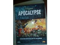 Warhammer 40000 40K Apocalpse Book - 1st edition hardcover