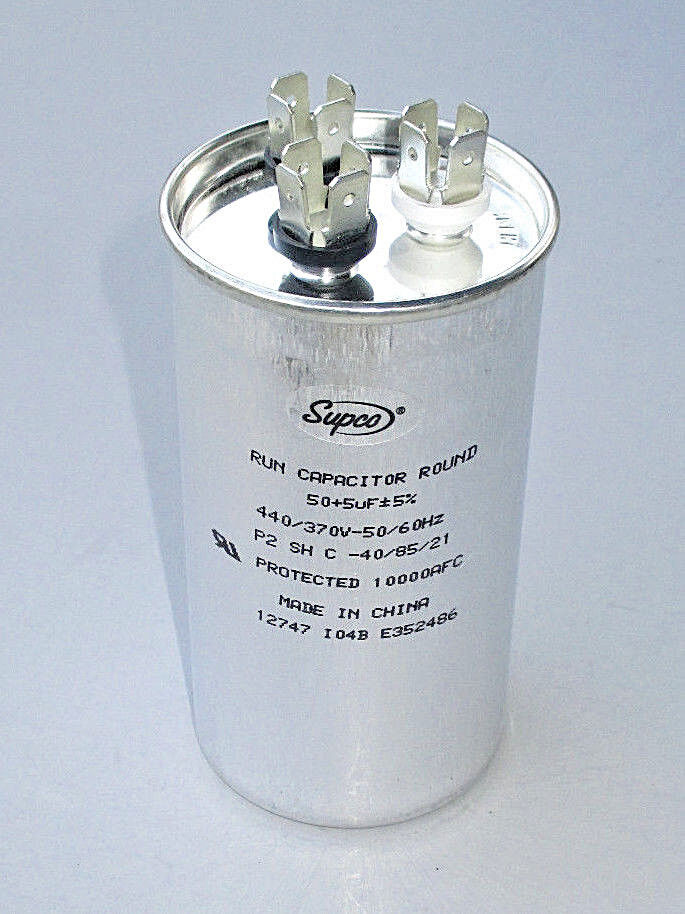 Dometic Duo-Therm HEAVY-DUTY Run Capacitor 3100248.487, 50+5 mfd, RV Camper A/C