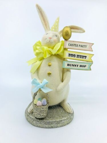 ESC Company: Heather Myers; Spring Easter Bunny; Marshmallow, Item# 55376