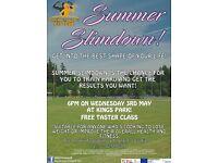SUMMER SLIMDOWN - FREE TRIAL CLASS