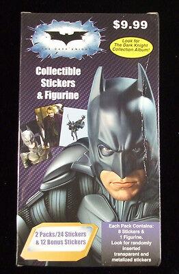 2008 PGM Batman The Dark Knight Sticker Value Box