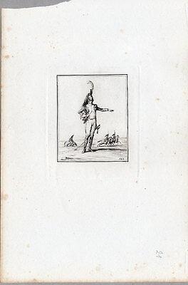 Militaria-Militär Kupferradierung von Duplessis-Bertaux 1807