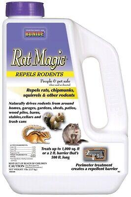 Bonide 863 Rat Magic Granules, 5 lb.