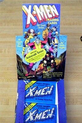 PACKS: 1991 X-MEN Comic Images Jim Lee AUTOGRAPH