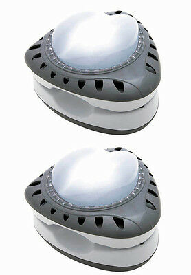 Intex Primarily Ground Energy Efficient LED Magnetic Pool Light | 28687E (2-Pack)
