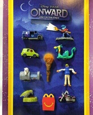 Onward 🧙 Pixar Disney March 2020 McDonalds Happy Meal Toys #1-9 + Complete Sets