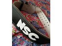NSC deadlifting belt