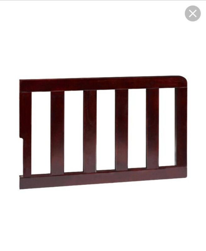 Delta Children Toddler Guardrail Chocolate