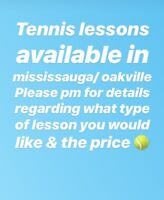 Tennis lessons with certified coach