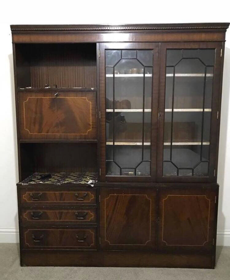 Cheap Sturdy Furniture: Vintage Cabinet / Cupboard For SALE