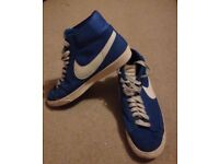 Men's Nike High Top Blazer Trainers Size 9