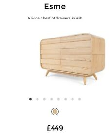Made Esme Chest of Drawers in Ash RRP £449