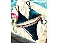 Brand new velvet bikini
