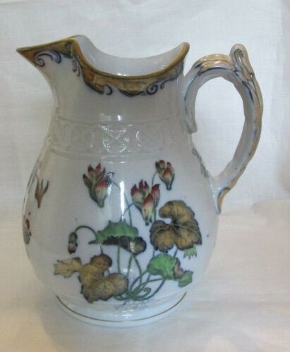 Antique English Davenport Pitcher - Free Shipping