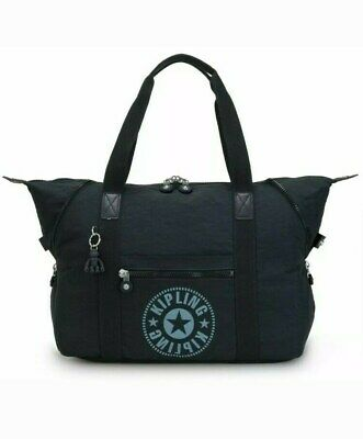 Kipling Art M Classics EWO Tote Weekender Travel Bag
