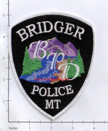 Montana - Bridger MT Police Dept Patch