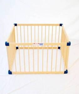 Wooden square playpen South Morang Whittlesea Area Preview