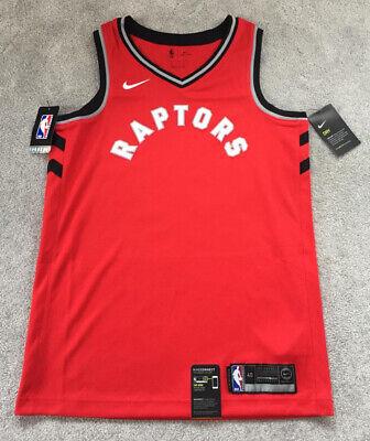 NEW Mens Nike NBA Toronto Raptors SWINGMAN Basketball Vest Jersey Ltd Casual Gym