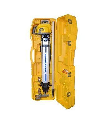 Trimble Spectra Precision Ll300n-2 Laser Level Kit Tripod 15ft Alum. Rod Inches