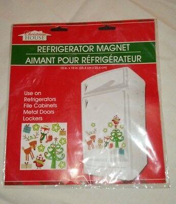 - NATIVITY  CHRISTMAS HOUSE REFRIGERATOR , GARAGE DOOR, LOCKER METAL DOOR MAGNETS
