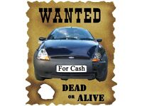 car wanted for cash spares or repairs