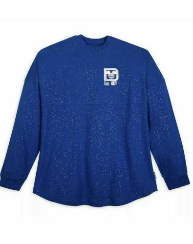 Disney Disneyland Wishes Come True Blue Make-A-Wish Spirit Jersey XS MSRP $90