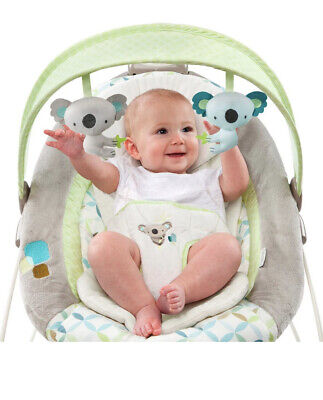 Ingenuity SmartBounce Automatic Bouncer, Baby Bouncer, Baby Melodies & Nature