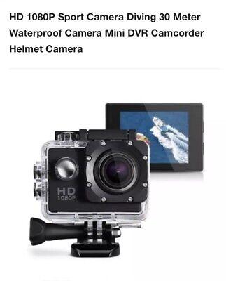 1080p Hd Underwater Diving Camera/Helmet Camera