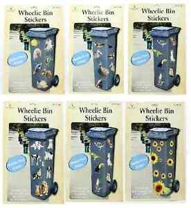 Autocollant sticker exterieur interieur poubelle a roulette resistant intempe - Stickers poubelle exterieur ...