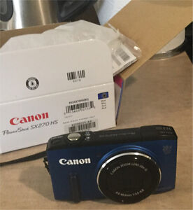 Canon PowerShot camera- brand new in box