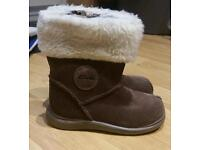 Girls boots both size 6