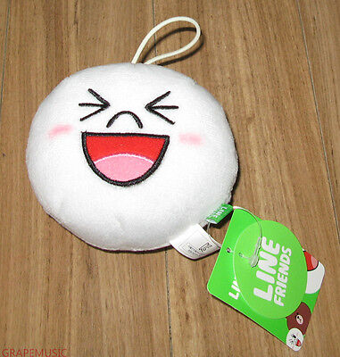 Shinee Naver Line Character Mini Head Doll Moon Official Goods Sealed