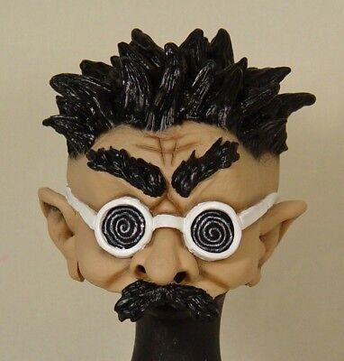ter Professor Halloween Latexmaske Maske 126026513 (Verrückte Halloween-maske)