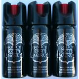 3 Pack Police Magnum OC-17 Mace Pepper Spray 2 oz ounce Safety Lock Self Defense