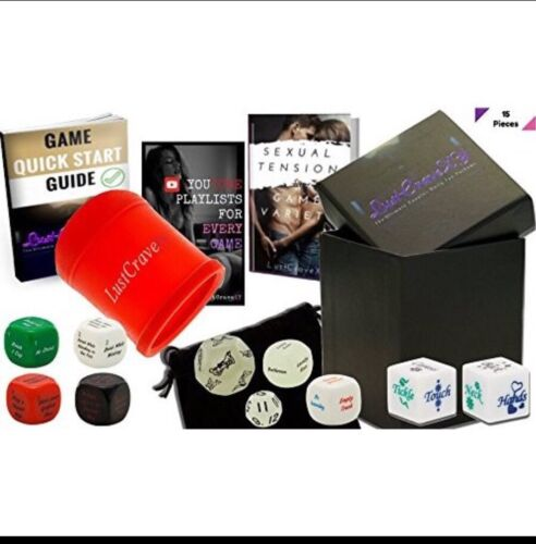 LustCraveXY Upscale Sex Fun Adult Dice Board Game For Couple