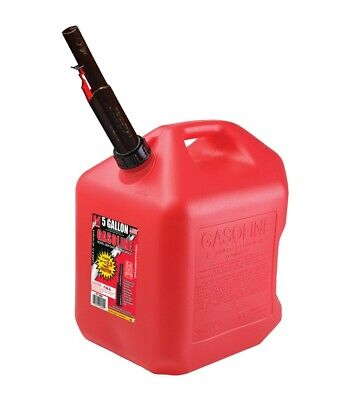 Midwest Can 5610 Auto Shut-off Gas Can Plastic 5 Gallon