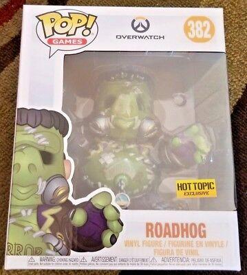 Funko Pop! Games: Overwatch Roadhog Halloween Frankenstein, Hot Topic exclusive - Pop Halloween Games