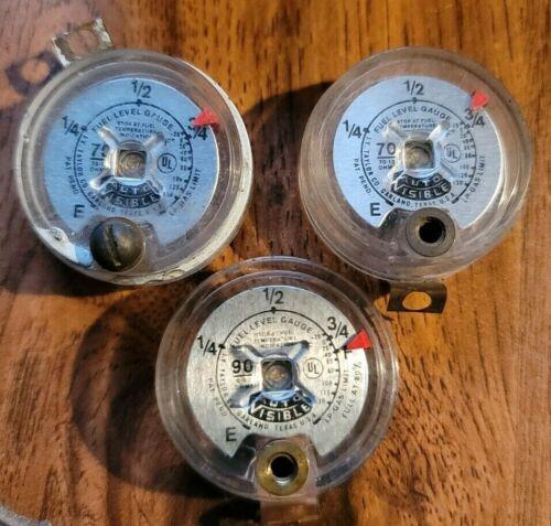 Taylor LP Gas Auto Visible Fuel Level Gauge Dial Lot 2 Different Ohm Ratings