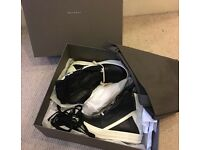 NEW Rick Owen leather sneakers
