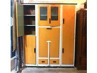 Large 1950's Multifunctional Kitchen Unit - Table / Storage - Retro / Vintage
