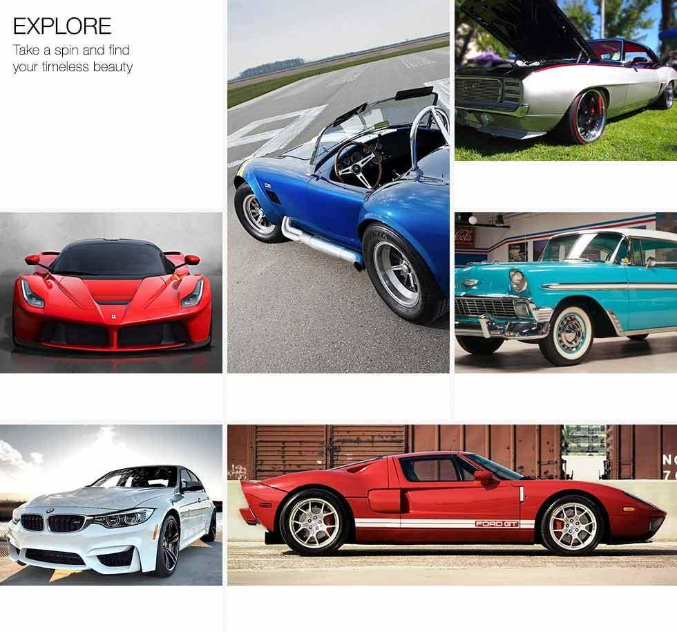 Luxury Collector Cars Images On: Ferrari, Porsche, Chrysler