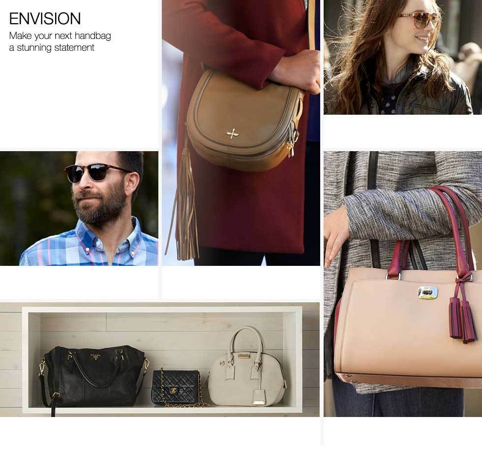 Envision. Make your next handbag a stunning statement.