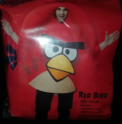 Angry Birds RED BIRD Halloween Adult Costume by Rovio Entertainment!