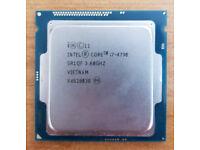 Intel I7 4790 3.6Ghz Fully working order