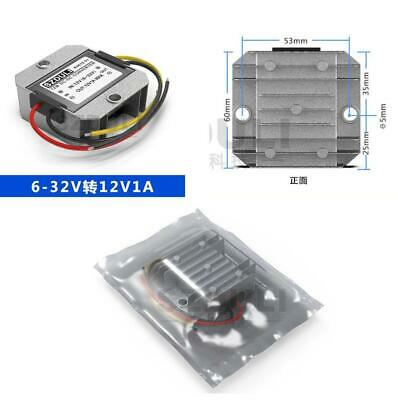 1x 5-32v To 12v 1a Dc Power Voltage Regulator Stabilizer For Car Radio Speaker