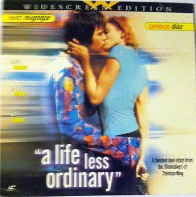 A Life Less Ordinary - Laserdisc - 12 INCH DISC - 1997 - Widescreen