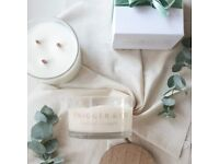 Twigger&Co Vegan Soy Wax Candle Three Wick Large Mint & Eucalyptus Gift NEW